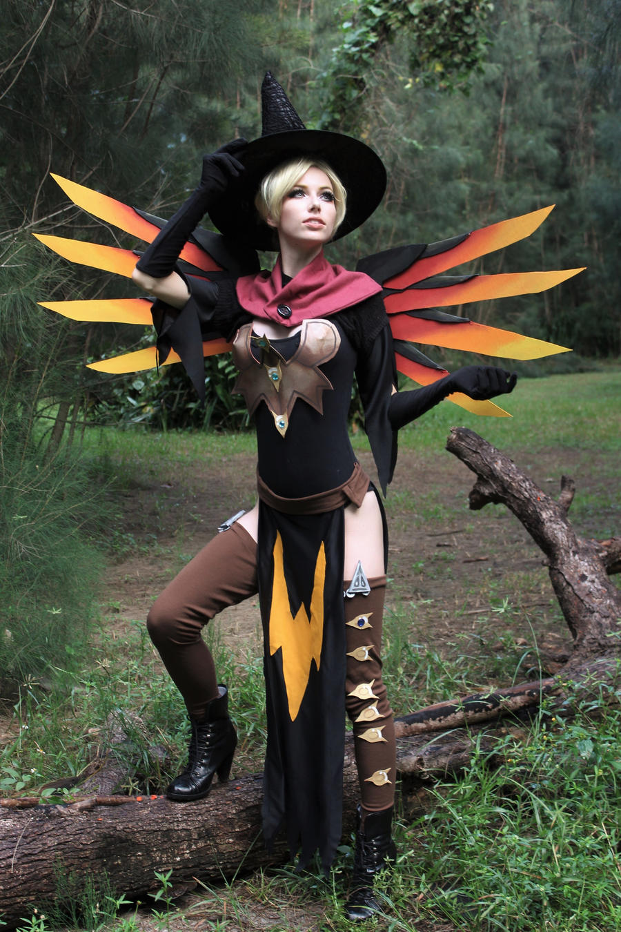 Witch Mercy by MeganCoffey on DeviantArt