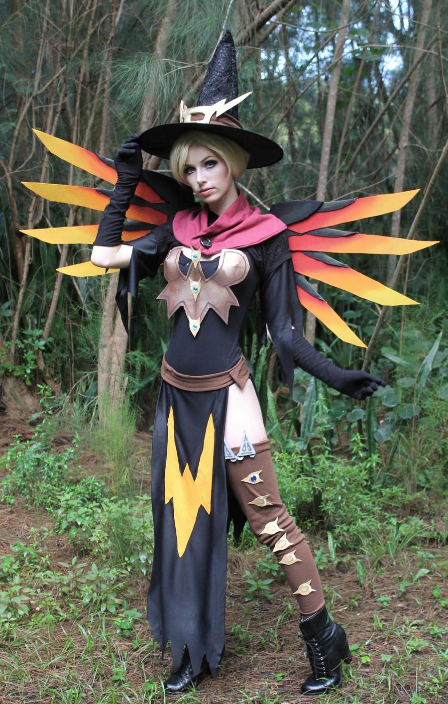 Witch Mercy VI by MeganCoffey on DeviantArt