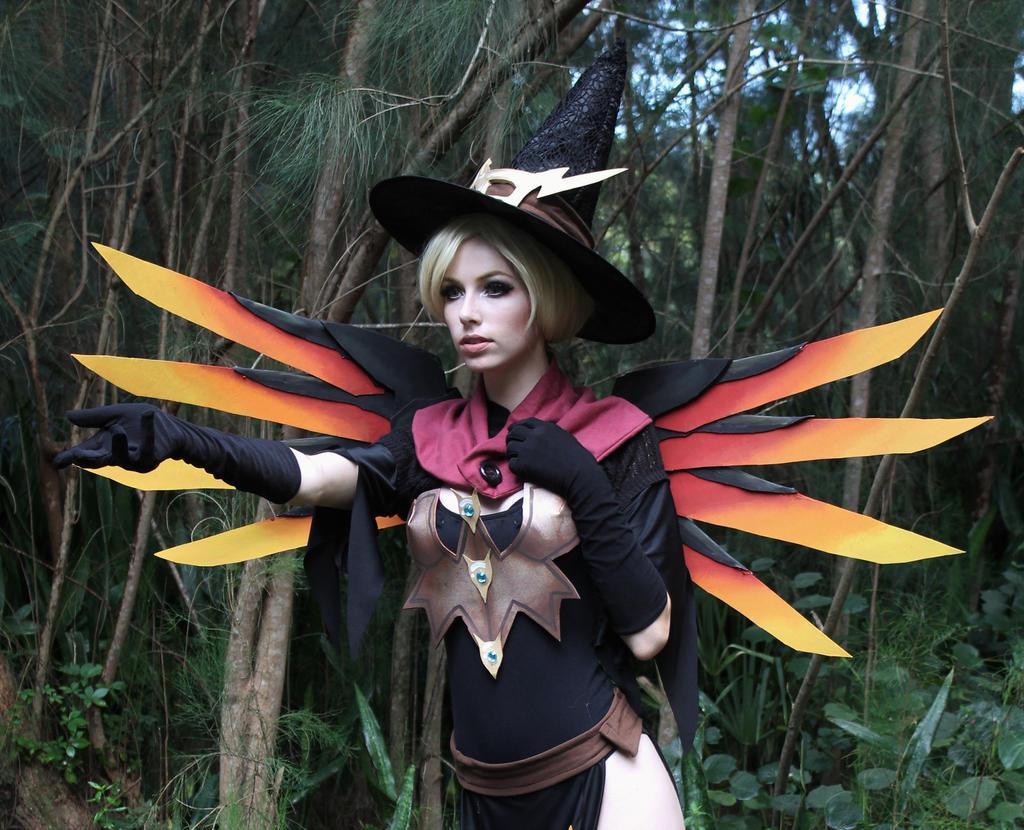 Witch Mercy IX by MeganCoffey on DeviantArt