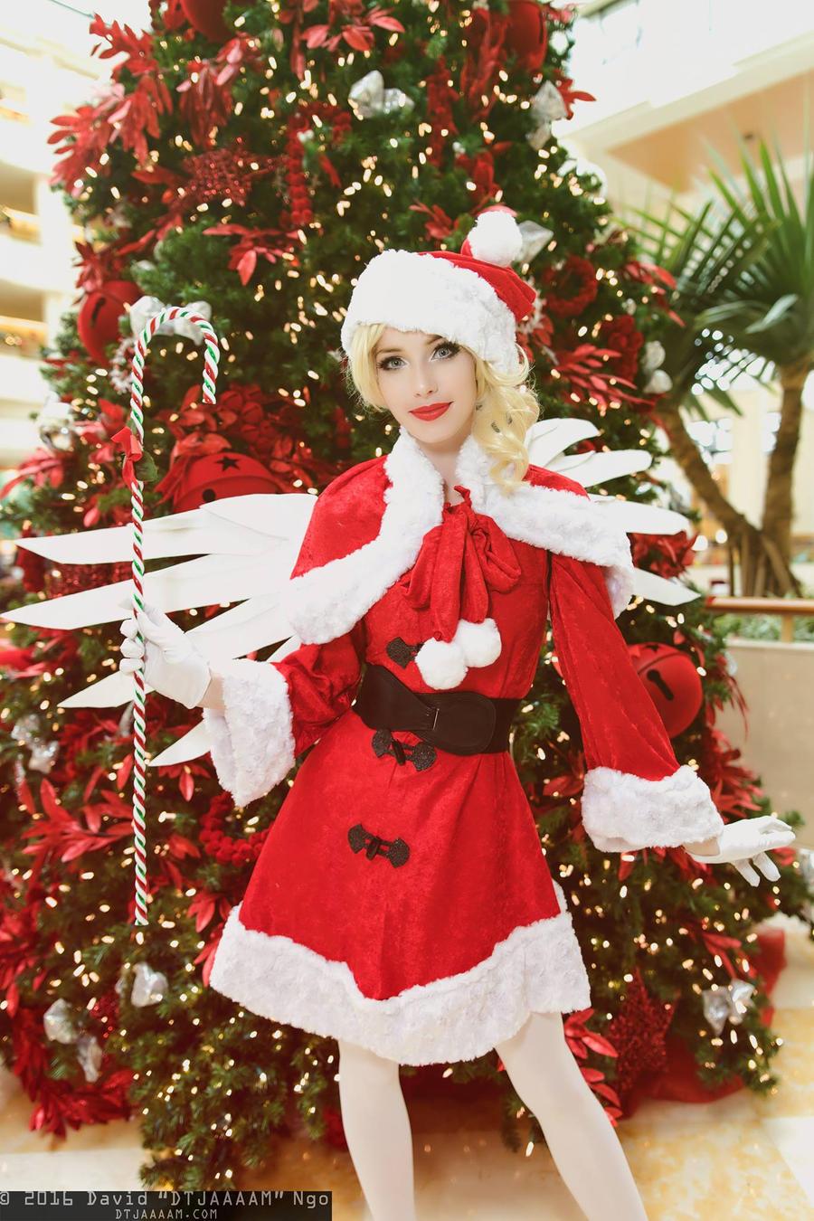 Holiday Mercy - Candycane by MeganCoffey