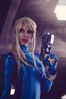 Zero Suit Samus V by MeganCoffey