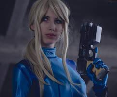 Zero Suit Samus VI by MeganCoffey