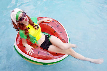 Summer Rogue III by MeganCoffey