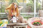 Pool - Asuka and Pen Pen VI