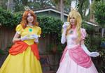 Princess Daisy and Peach