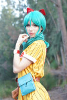 Dragon Ball - Bulma V by MeganCoffey