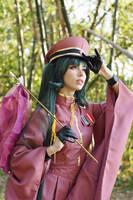 Senbonzakura Miku III by MeganCoffey