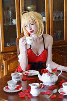 Ruffle Nero - Tea Party II by MeganCoffey