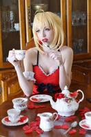 Ruffle Nero - Tea Party III by MeganCoffey