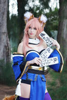 Tamamo No Mae IX by MeganCoffey