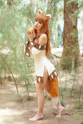 Spice and Wolf - Holo by MeganCoffey