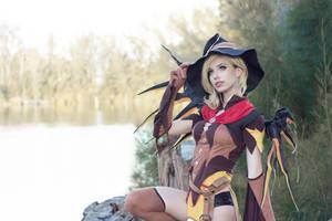 Witch Mercy - Woods II by MeganCoffey