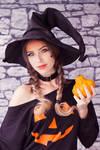 Pumpkin Witch III