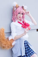 Casual Tamamo XI by MeganCoffey