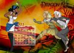 Dragon Age 2011 Calendar Dec by tankgirly