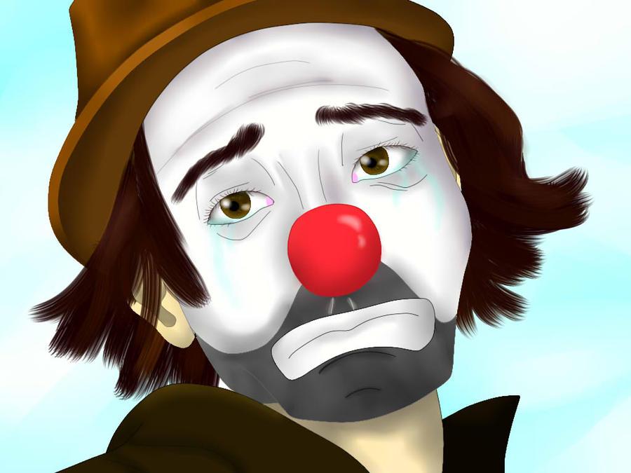 foto de Sad Clown by Sokklafan11 on DeviantArt