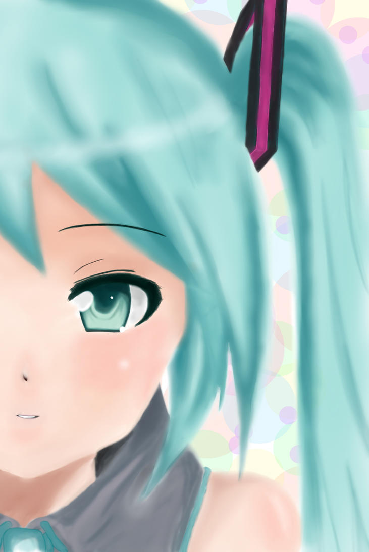 Miku Face by gaixas1