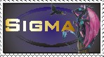 sigma-the-dragon Stamp by 4-Elements-Dragon