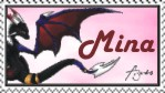 Mina Stamp for cds :3 by 4-Elements-Dragon