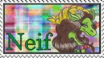 Neif Stamp by 4-Elements-Dragon