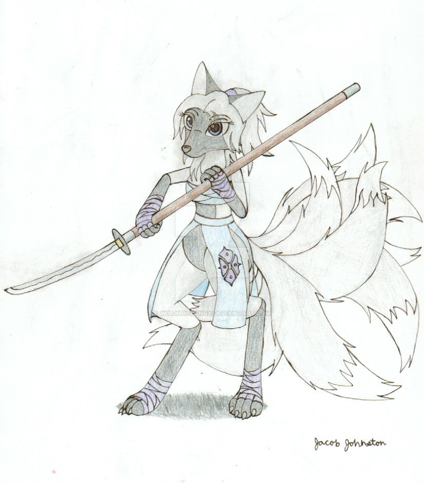 Kasai The Kitsune by WILDMUSTANGX