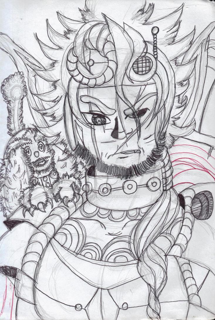 Adrian Re-Draw by ArtistaDeAlma22