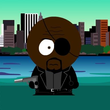 South Park Nick Fury b...