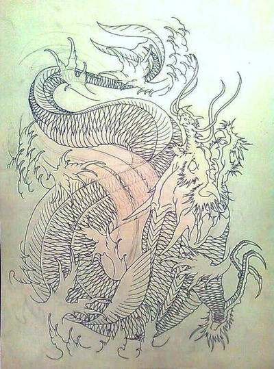 Koi dragon project part i by eltri on deviantart for Live dragon koi fish