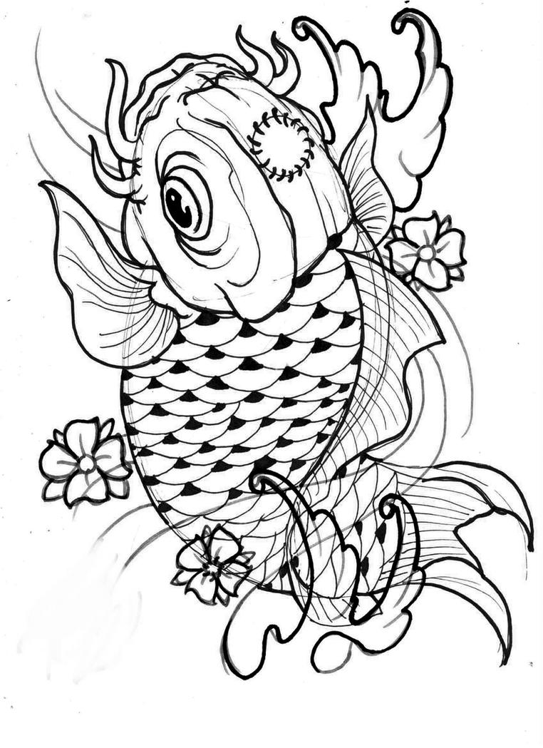 Koi Fish Flash Art Oriental Flash 7 Koi Fish by