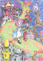 Amy in Wonderland :: CE by Amalika