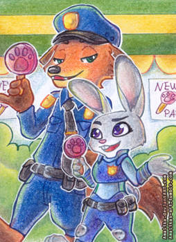 ACEO #44 - Pawpsicle