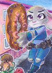 ACEO #45 - The Big Donut