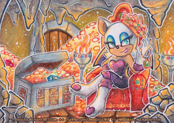 ACEO #61 - It's not the Master Emerald, but...