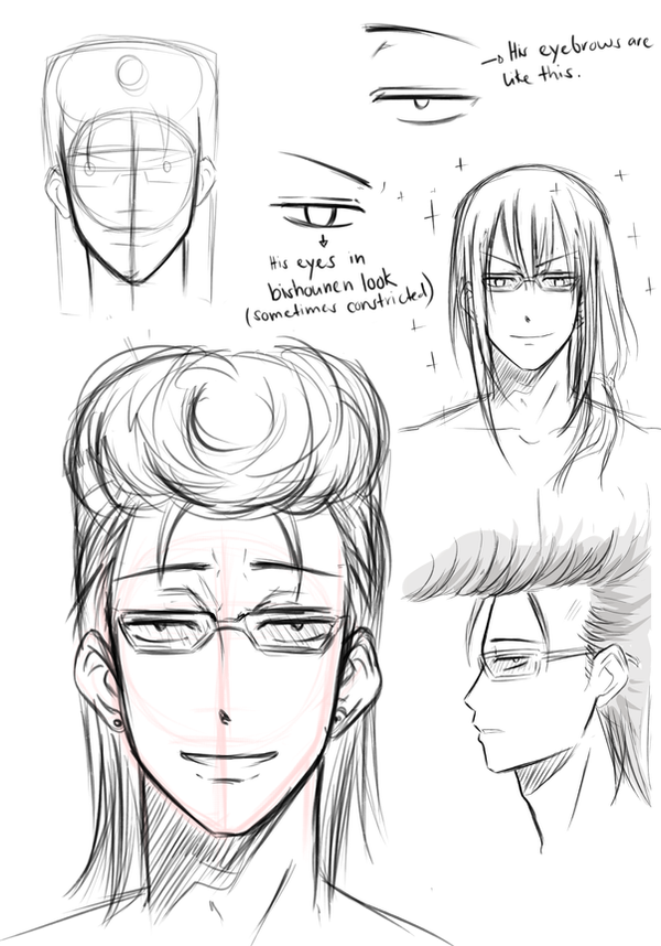 How to draw Himekawa Tatsuya by Ih-Kin
