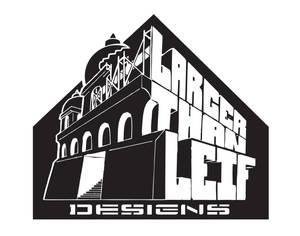 larger than leif logo - version 2