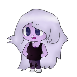 Amethyst Redraw by colourpastelpuppy