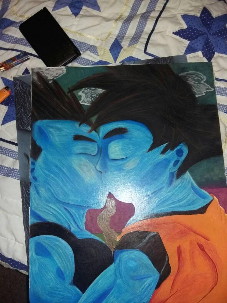 Goku x Vageta  by icefox1121
