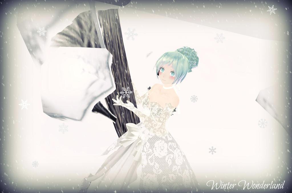 MMD ~*Winter wonderland*~ by nikki1214
