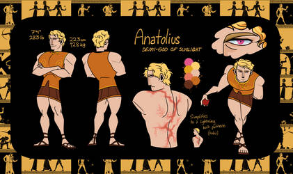 Anatolius(Fighter) by thesamnang