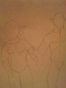 Beginning of a sketch
