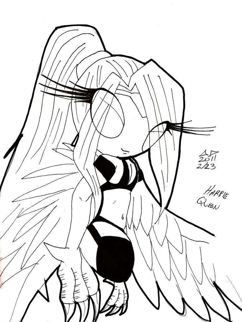 Harpie Queen by neronova