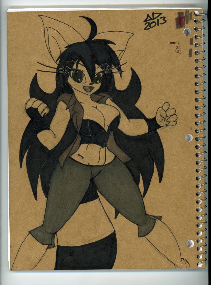 Nera on my Notebook by neronova