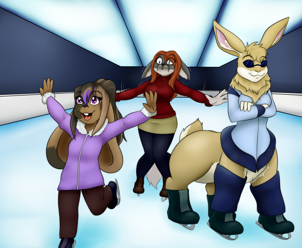 Fun on the Ice - Commission by neronova