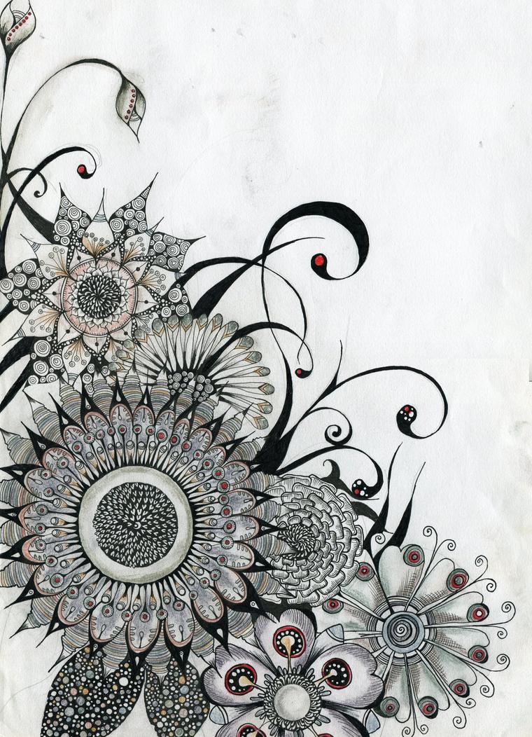 flowers by lindzb on deviantart. Black Bedroom Furniture Sets. Home Design Ideas