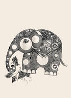 elephant for luck by lindzb