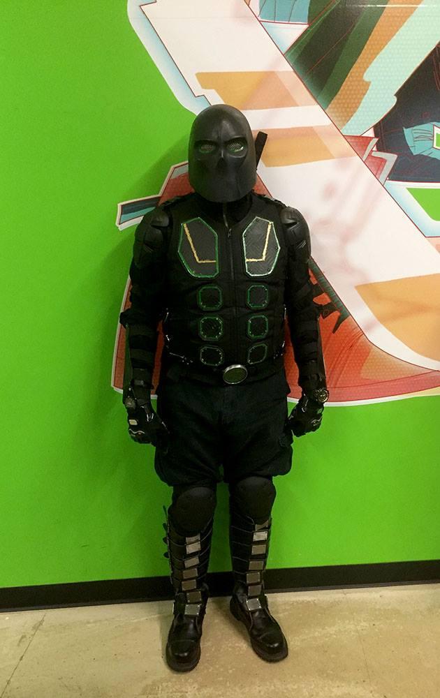 Ninja-X costume in 2018 by schooltrashers
