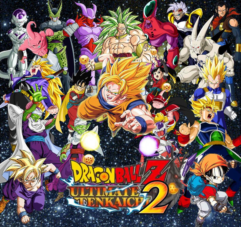 dragon ball ultimate tenkaichi 2 by ryokia96