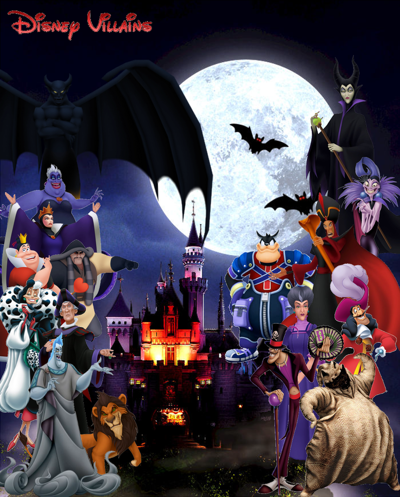 Disney Villains Halloween by ryokia96 on DeviantArt