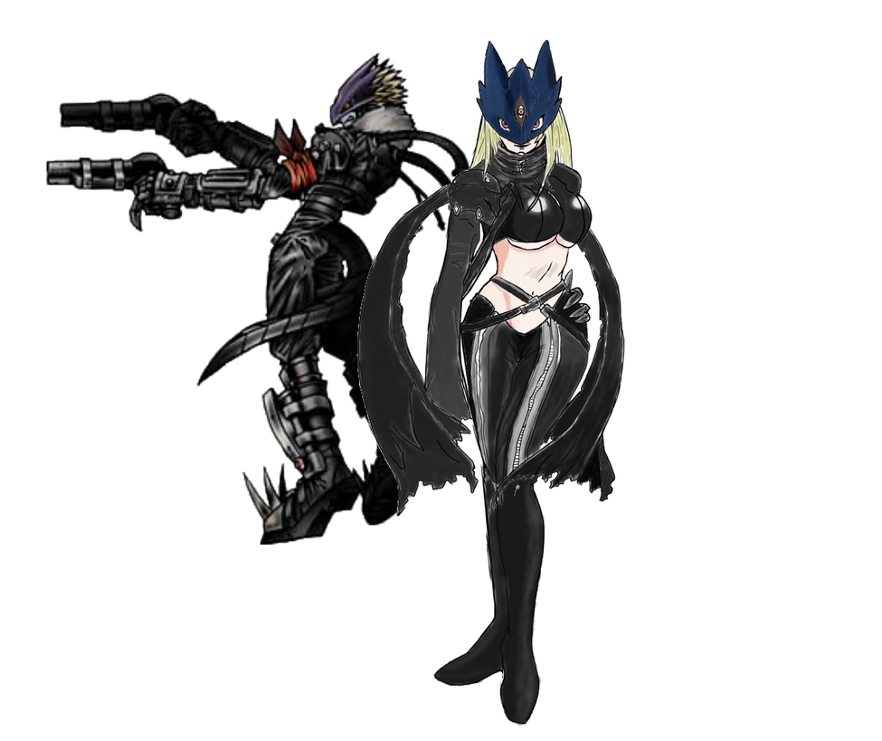 Beelzemon Brother and Sister (Wallpaper) by ryokia96 on DeviantArt