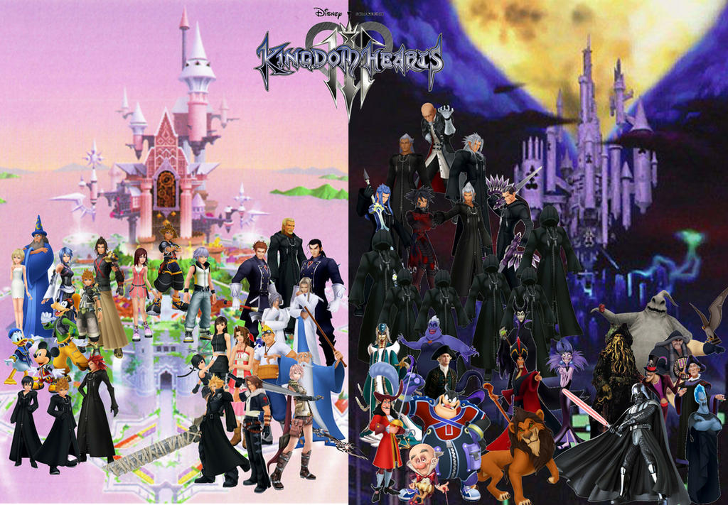 Kingdom Hearts II  Disney Wiki  FANDOM powered by Wikia